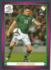 PANINI EURO 2012- #367-REP OF IRELAND-EIRE-ROBBIE KEANE IN ACTION