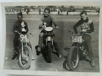 Vintage 1950s or 60s Official Photo AMA Dirtbike Racing Motorcycles 5x7 Dirtbike