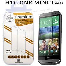 3 Pack HTC One 2 Gorilla Mini Proteggi schermo Premium Vetro Temperato LCD Guard