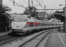 PHOTO  FRENCH TRAIN - TGV  COMBES LA VILLE SEP 87