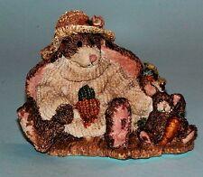 "Boyds Bears ""Charlotte & BeBe.The Gardeners"" #2229, Nib 1993 garden rabbits"