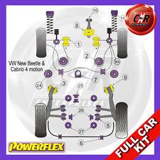 VW New Beetle & Cabrio 4Motion (1998-2011) Powerflex Complete Bush Kit