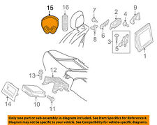 MERCEDES OEM 14-16 E350 Entertainment System-Headphone 2228201889