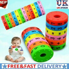 Learning Cylinder Numbers Kindergarten Educational Intelligence Arithmetic Toys