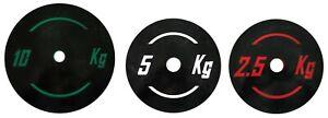 Pesi Dischi palestra varie misure 2.5 - 5 - 10 kg