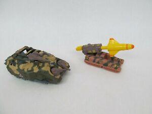 Vintage Kenner Mega Force Tank + Brimstone