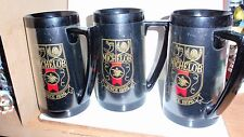 3 Vintage Thermo Serv Insulated Mugs ~ Michelob Beer ~Euc