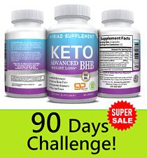 Ultra Fast Pure Keto BHB Weight Loss Diet Pills 90 CAPSULE Ketogenic Supplement