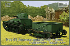IBG 72045 - Type 94 Japanese tankette with trailers (2 trailers in the box!)