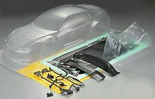 RC 1/10 Car 195mm Unpainted clear Body Shell bodies NISSAN GTR R35 GT