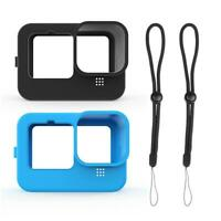 Frame Silicone Protective Housing Case Lens Covers For GoPro Action Camera Blue