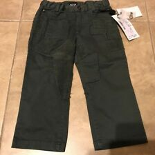 Dolce & Gabanna D&G Olive Green Kaki Jeans Pants NEW w/ Tag 2T