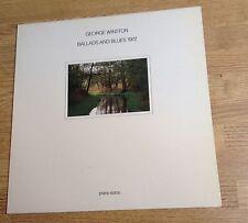 33 tours pressage coréen George Winston Ballads and blues 1972 1981 comme NEUF*