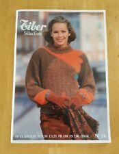 Tiber Knitting no 24 French Patterns In English