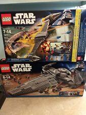 Lego Star Wars 7961 Darth Maul's Sith Infiltrator & Naboo starfighter 7877 compl