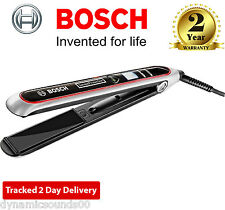 Bosch PHS8667GB Pro-Salon SensorProtection Hair Straightener LCD Display 200°C