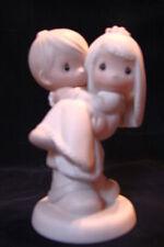 Precious Moments 1983 Porcelain Figurine GROOM CARRYING BRIDE w/ Box
