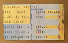 1990 CROSBY, STILLS AND NASH PHILADELPHIA CONCERT TICKET STUB CS&N WOODSTOCK