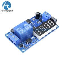 Dc12v Led Display Digital Delay Relay Timer Control Switch Module Plc Automation