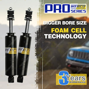 """2"""" 50mm Lift Front Foam Cell Shock Absorber for Isuzu D-Max TF 4WD 3.0 Ute 08-on"""