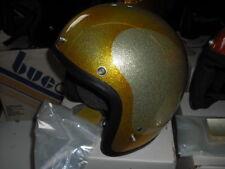 1970s helmet Shoei gold Harley Honda Kawasaki chopper Suzuki Large EPS14416