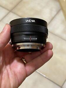 Laowa Magic Shift Converter MSC da Canon EF a Sony E-mount