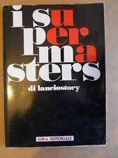 I SUPERMASTERS Vol.1 Raccolta completa inserti Lanciostory Anni 80 [G253A]