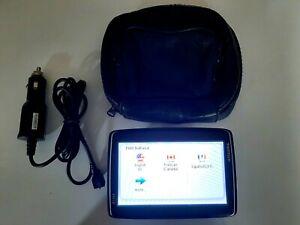 """TomTom GO LIVE 1535 5"""" GPS Model: 4ER50 w/ Leather Case Bundle Mint"""