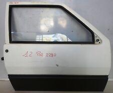 MANIGLIA PORTA POSTERIORE SX EST NERA FIAT UNO 89/>95 5P 1989/>1995