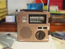 Eton FR200 Portable Radio brown