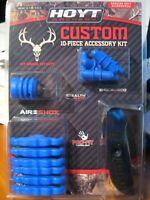 Hoyt Archery CUSTOM 10 Pièce Kit D/'accessoires rose 377248 Bow Hunting