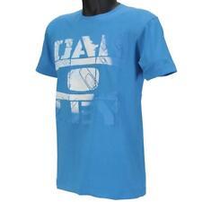Oakley BLACK FLAG T-shirt Size M Medium Brilliant Blue Slim Fit Mens Cotton Tee