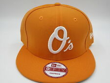 Baltimore Orioles Orange Throwback New Era 9FIFTY MLB Retro Snapback Hat Cap