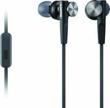 Sony MDRXB50AP/B Earbud Headset - Black