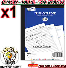 Duplicate Receipt Book pagine numerate 1 – 80 + 2 fogli di carta carbone  Reciept Talon e07c527ab360