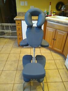 Earthlite Vortex Lightweight Portable Massage Chair Carry Case SNT680712 Blue