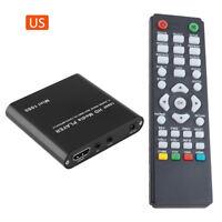 Mini 1080P USB SD MMC HD AV Port TV Multi Media Player-MKV/RM-SD/USB HDD-MI