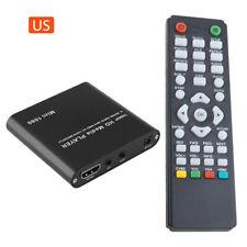 Mini HD 1080P SD USB Multi Media Player For HDMI/AV/MMC MKV AVI Blue-ray Movies