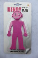 Bendy Man Book Light - Pink