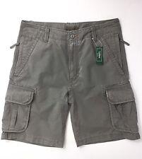 "LL Bean Men's Allagash Cargo Shorts Size W32"" Asphalt"