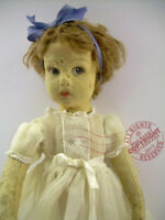 "13"" LENCI DOLL model 450 fun TLC fixer _ Toes _ original hair + face  DeLiGHTFuL"