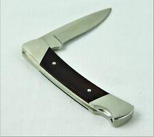 "Buck Knife 503 ""Prince"" Single Lock Blade 1999 Mark Dymondwood Wood Handle Exc"