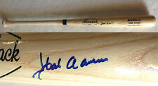 Hank Aaron Braves signed Big stick baseball bat auto HOF JSA LOA