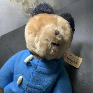 "Paddington Bear Vintage Plush 12"""