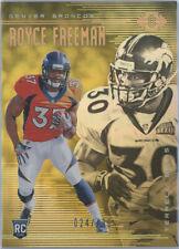 2018 Panini Illusions Gold #36 Royce Freeman/Terrell Davis RC Broncos 024/499