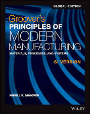 Groover's Principles of Modern Manufacturing by Mikell P. Groover (author)