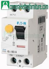 Interruttore differenziale puro AC 2P 25A 30ma EATON 235390