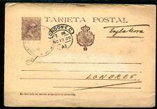 1897.ESPAÑA.ENTERO POSTAL.EDIFIL 36A(o).VARIEDAD.CATALOGO 14 €