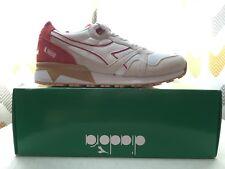 Diadora N9000 III Running Shoes- White- Mens
