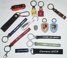 Genuine Porsche Germany Car Key Chain Emblem Logo / You can choose one Key Cain